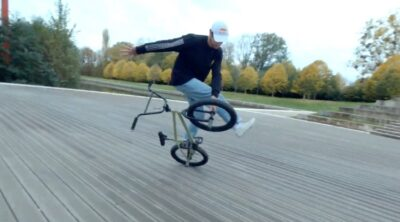 Matthias Dandois VS Drone BMX video