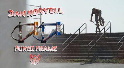 S&M Bikes Dan Norvell Fungi frame promo BMX