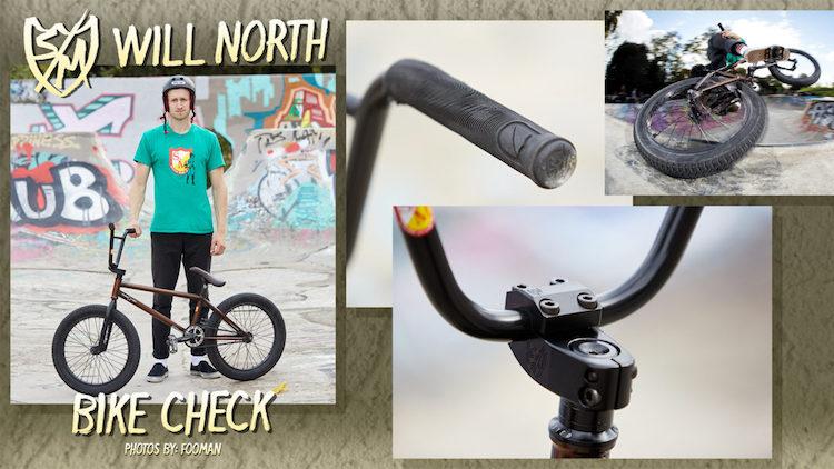 S&M BIkes Will North Bike Check BMX