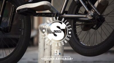 Sunday Bikes Julian Arteaga 2021 EX complete BMX bike video