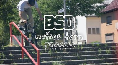 BSD Mattes Torn BMX video