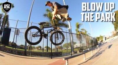 Colin Varanyak USL BMX Blow Up The Park BMX video