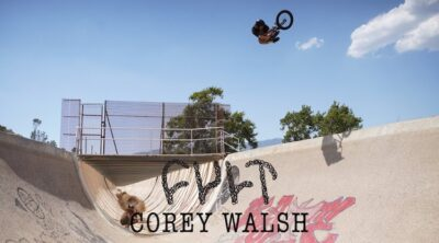 Cult BMX Corey Walsh End of the World BMX video