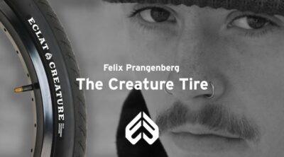 Eclat BMX Felix Prangenberg Creature Tire