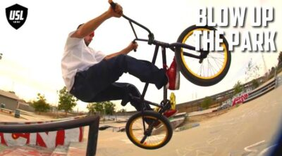 Ethan Corriere USL BMX Blow Up The Park Video