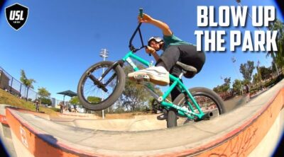 Gary Young USL BMX Blow Up The Park Video COntest