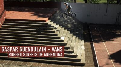 Vans Gaspar Guendulain BMX video