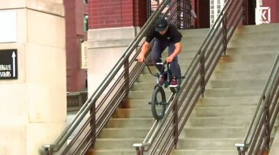 Kink BMX Hobie Doan Just Biking BMX video