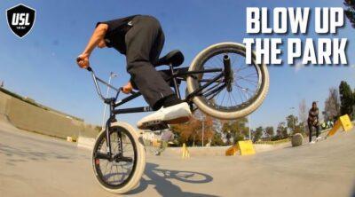 Jacob Cable USL BMX Blow Up The Park Video