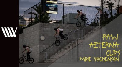 Lux BMX Mike Vockenson Aeterna BMX video