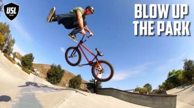 Matt Ray USL BMX Blow Up The Park BMX video