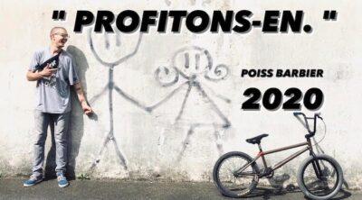 Poiss Barbier 2020 BMX video
