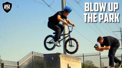 Poor Homie Rich USL BMX Blow Up The Park video
