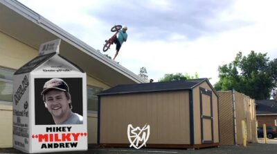 "SM Bikes Mike ""Milky"" Andrews BMX video"