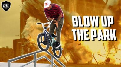 USL Blow Up The Par BMX video contest