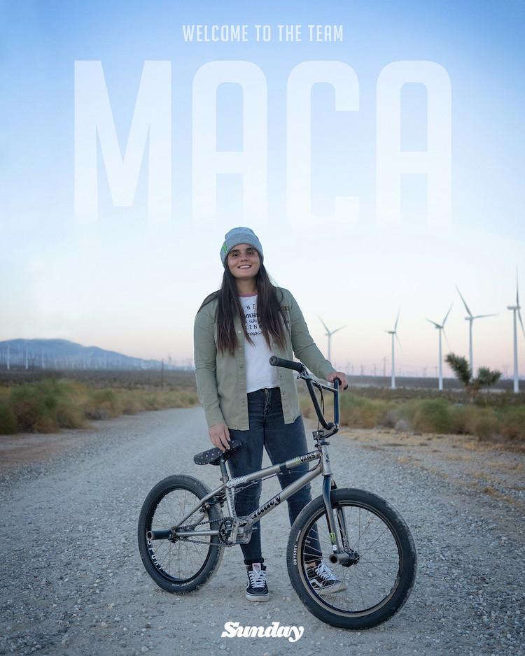 Maca Perez Sunday Bikes Pro BMX