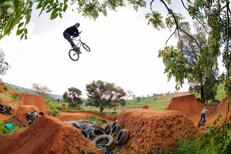 Tyson Jones-Peni on Wethepeople BMX