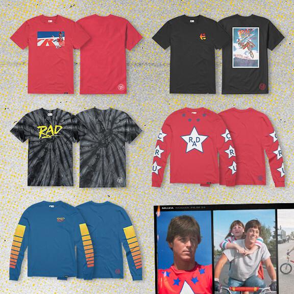 Etnies X Rad Shirts