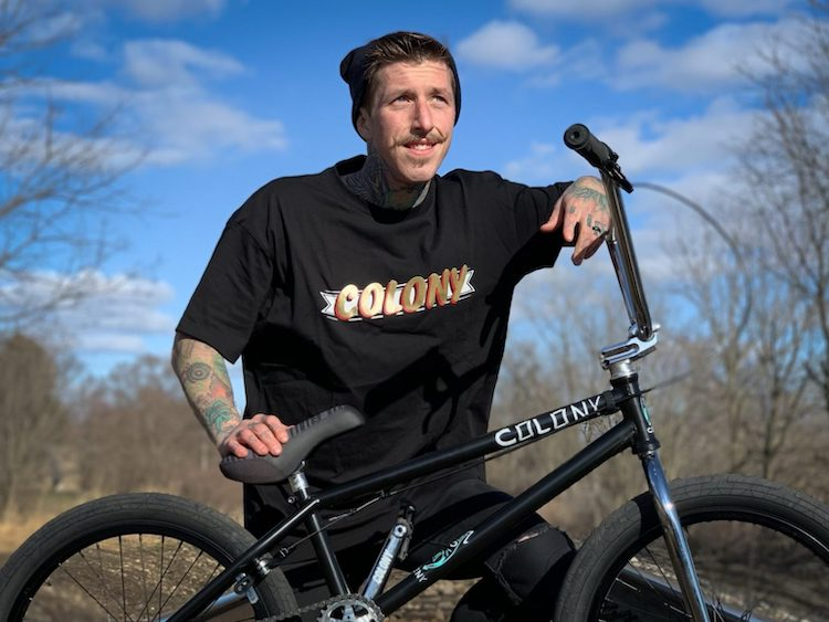 Joe Battaglia On Colony BMX