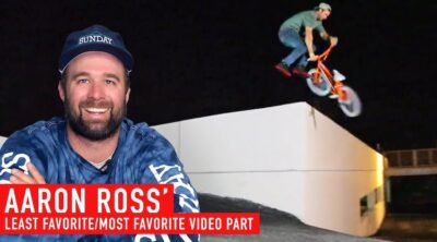 Aaron Ross Least Favorite Most Favorite BMX video