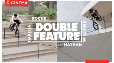 Cinema BMX Nathan Williams Dakota Roche Double Feature