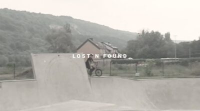 Colony BMX Marcel Gans Lost and Found BMX video