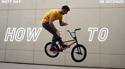 How To 180 Barspin BMX video