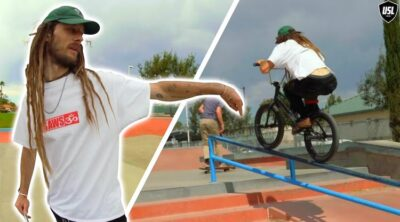 USL BMX Joris Coulomb BMX Dice