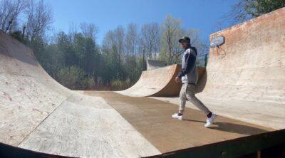 Mike Varga Backyard Ramp Tour BMX
