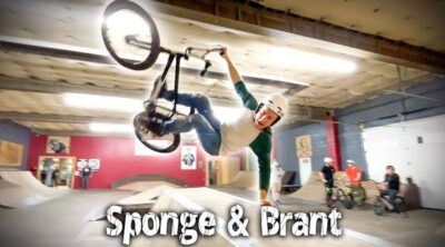 Sponge and Brant Moore BMX video