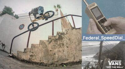 Vans X Federal Bikes Speed Dial BMX video