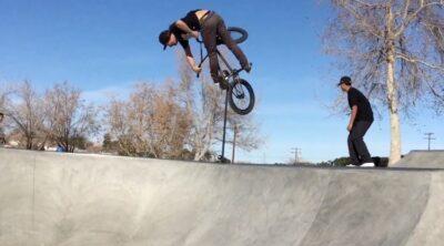 Victorville Skatepark sessions BMX video