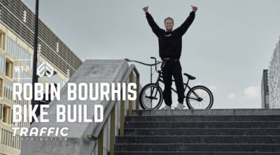 Wethepeople Eclat BMX Robin Bourhis Bike Build