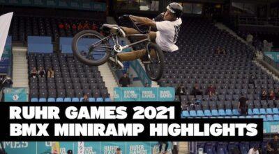 Ruhr Games 2021 BMX Mini Ramp Highlights