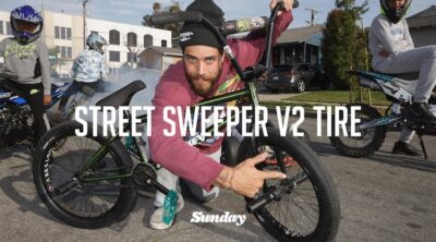 Sunday Bikes Jake Seeley Street Sweeper V2 tire BMX