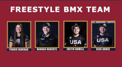 Team USA Freestyle BMX team Olympics