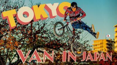 Van Homan In Japan BMX video