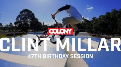 Colony BMX Clint Millar 47th Birthday Session