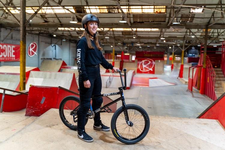 Emma Finnegan On Kink BMX