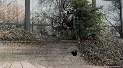 Giano Vacca BMX video Always Jibbin 2