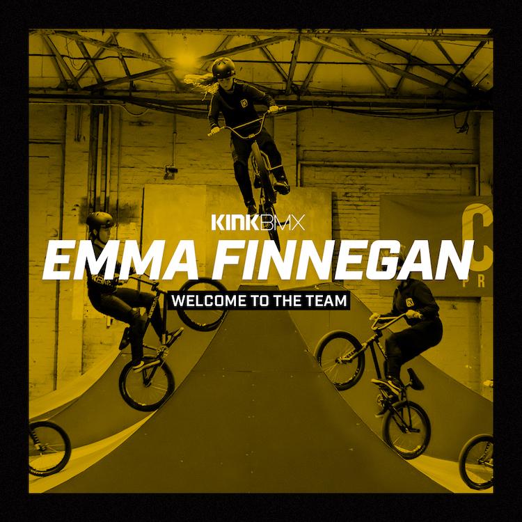 Kink BMX Emma Finnegan