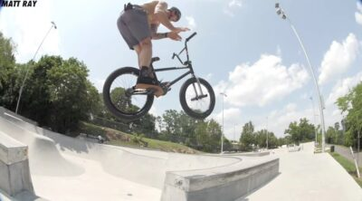 Matt Ray Hyde Park Session BMX
