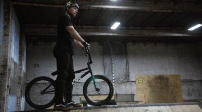 Nick Bruce On DK Bicycles BMX
