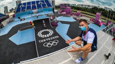 Olympics BMX Freestyle Course Preview