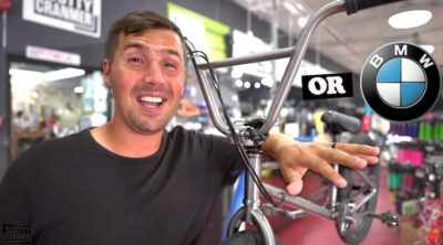 Scotty Cranmer most expensive BMX bike titanium