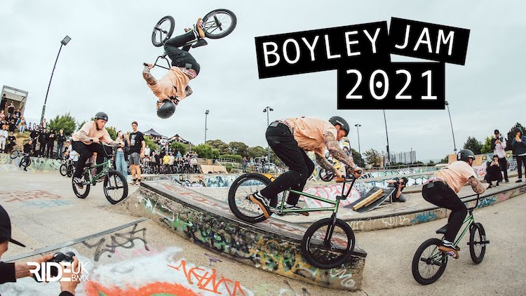 Boyley Jam 2021 BMX video