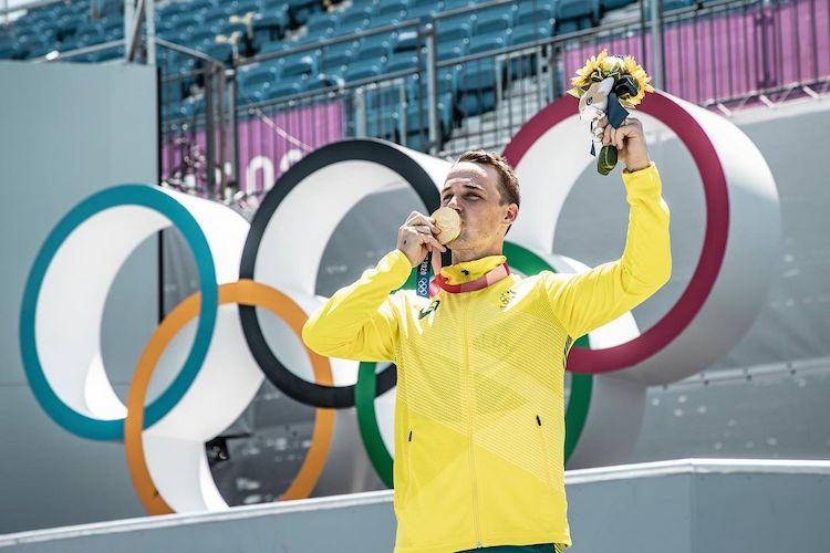 Logan Martin Tokyo Olympics BMX Freestyle Gold