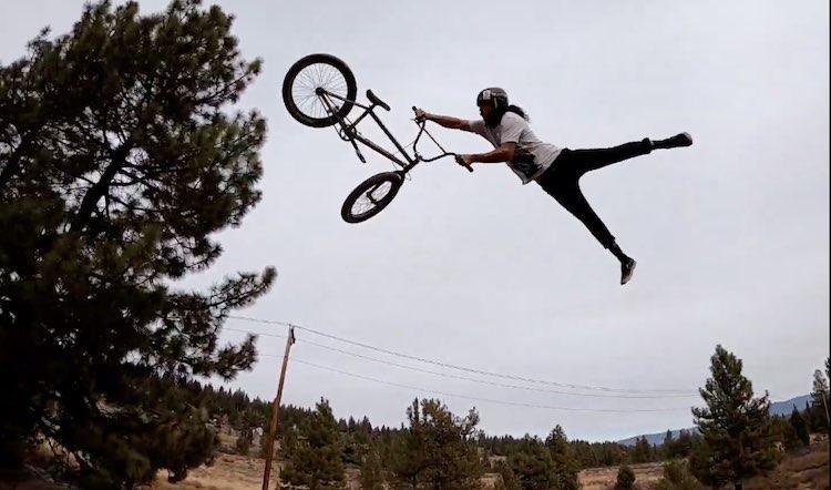Alex Rubio Instagram Clip BMX video