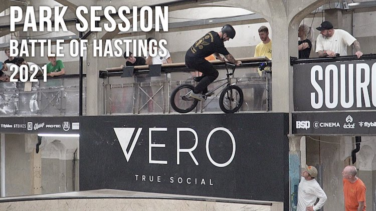 Source BMX Battle of Hastings 2021 Park Session Highlights