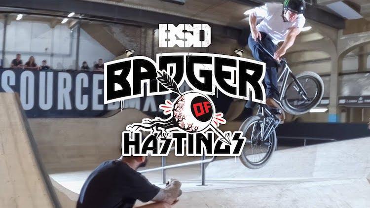 BSD Badger of Hastings BMX video